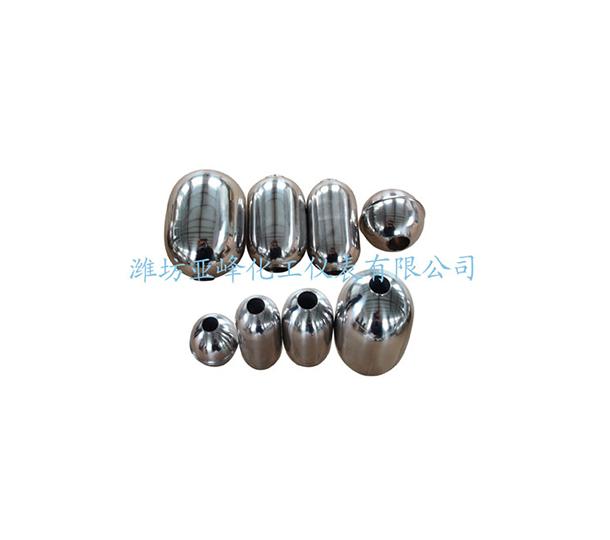宁夏带内孔的不锈钢浮球